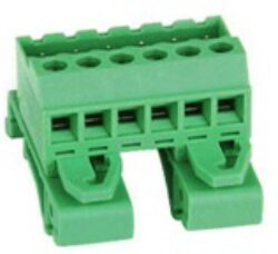 SM C09 05814 12 YOC - Schmid-M: DIN Plug-In Terminal Blocks, Straight, RM 5,08mm, 12 Poles, green